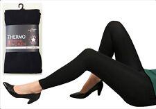 3x Thermo Fleece Leggings Legging Thermoleggings Fleeceleggings Strumpfhose Hose