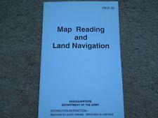 USGI Manual Map Reading And Land Navigation 150 pages