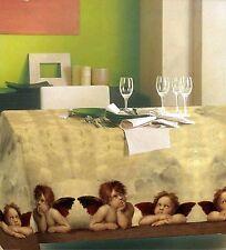 Tischdecke Tischläufer Mitteldecke Tischtuch Engel Michelangelo 100% Baumwolle