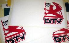 DTV Griffin Dealer TEAM grande pannello della porta adesivi
