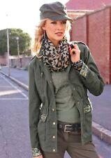 Jacke ANISTON. Military-Stil Khaki. NEU!!! KP 99,99 € SALE%%%