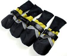 USA SELLER Dog Boots Shoes Socks WATERPROOF Reflective Strip Yellow #1 - #9