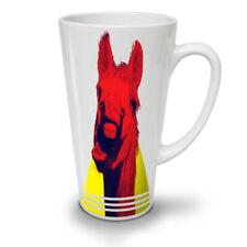 ANIMALE BUFFO RIDERE Cavallo Nuovo White Tea Tazza Da Caffè Latte Macchiato 12 17 OZ | wellcoda