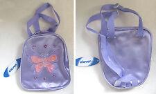 Borsa borsetta astuccio zainetto scuola teenager con farfalla e perline