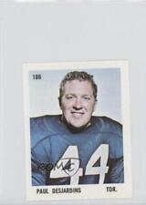 1971 O-Pee-Chee CFL Players Photos Stamps #186 Paul Desjardins Football Card