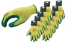 10 PAIA arvello l998 Unisex Guanti da Lavoro Rivestimento Lattice Naturale protezione a mano