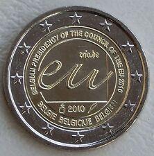 "2 Euro Belgien 2010  ""Ratspräsidentschaft"" unz."