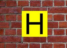 Etiqueta engomada o signo de incendio hidrante-resistente a la intemperie signo o Pegatina FEQ17