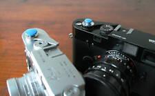 Blue 10mm Convex Soft Release Button for Leica M3 MP M8 M9 Fuji X100 Nikon Canon