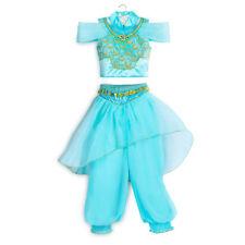 NWT Disney store Jasmine Costume Dress Girls Aladdin many Sizes princess
