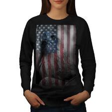 American Eagle Glory Women Sweatshirt NEW | Wellcoda