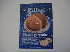 advertising Pubblicità 1981 PANETTONE GALUP
