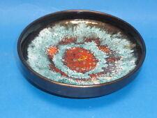 """Glazed Porcelain Bowl * Hungary * Signed * Large ~ 8.5"""""""