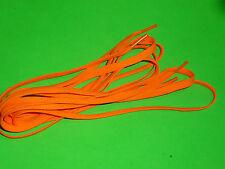 SHOELACES 140CM BOOTLACES  FLURO ORANGE ** IN AUSTRALIA ** LACES