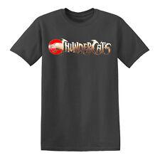 Thundercats Retro TV Logo T Shirt Vintage Classic TerraHawks He Man Skelator