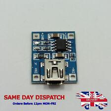 Mini USB 5V 1A TP4056 Charging Lithium Battery Module 18650 4.2V 3.7V 3.6V 3.8V