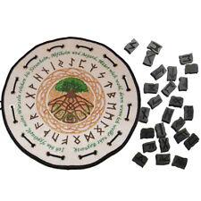 Runenbeutel -Yggdrasil- der Lebensbaum Echthorn Runen Baum des Lebens Mystisch