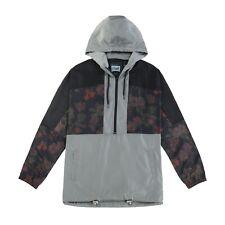 Floral Jacket 2020 Autumn Mens Hooded Jackets Slim Fit Long Sleeve Windbreaker