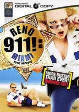 Reno 911!: Miami (DVD, 2008,  Unrated Cut; Includes digital Copy
