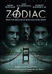 1 CENT DVD Zodiac (DVD, 2007) JAKE GYLLENHAAL  ROBERT DOWNEY JR  MARK RUFFALO