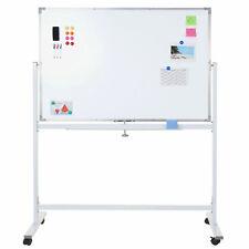 Lavagna magnetica bianca memoryboard HWC-C85 con rotelle e accessori