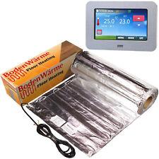 Electric Under Laminate / Wood Foil Underfloor Heating Mat Kit ALL SIZES