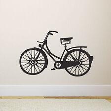 Vintage Bike Wall Sticker - Retro Bicycle Decal
