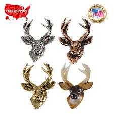 Lapel Pin or Magnet, M011 Creative Pewter Designs Mule Deer