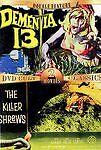 Double Feature: Dementia 13 / Killer Shrews (Slimline DVD, 2004) BRAND NEW DVD