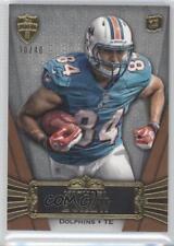 2012 Topps Supreme Sepia #66 Michael Egnew Miami Dolphins Rookie Football Card