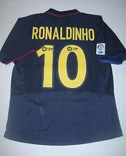 2003-2004 Nike FC Barcelona Ronaldinho Away Jersey Trikot Maglia Kit Brazil FCB