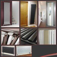 Grande vente! vertical, designer haut débit calorifique radiateurs-chrome, blanc ou noir