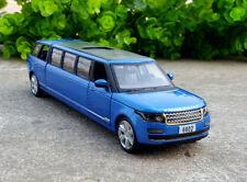 Range Rover Limousine 1:32 Scale Diecast Car Metal Sport Model Pull Back Boy Toy
