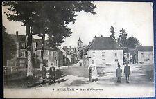 FRANCE ~ 1900's BELLEME ~ Rue d'Alencon ~ BERTHIER  HOTEL DE LA BOULE D'OR
