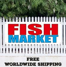Banner Vinyl Fish Market Advertising Sign Flag Many Sizes