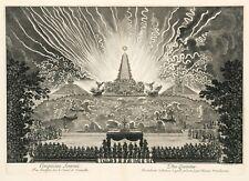 """Paul Le Pautre : """"Fireworks at Versailles"""" (1676) — Fine Art Print"""