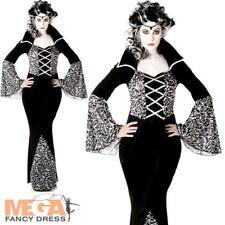 Royal VAMPIRESSA Donna Costume Vampira Adulti Da Donna Costume Di Halloween Nuovo