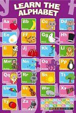 152929 mon ABC Alphabet Apprendre Tableau Art Mural imprimé Poster UK