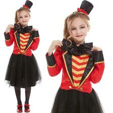 Alice im Wunderland Mädchen Kostüm~Karneval~Gr Rote Königin S=104-122