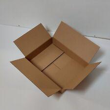 Faltkarton 495x370x100-145mm 1-wellig braun Faltschachtel Kartons Versandkarton