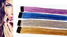 1x künstliche Haarverlängerung Haarsträhnen Clip in Extension Haarteil Kunsthaar