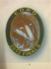 Earth Dog Running Dog 2012 Finals Badge