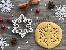 Snowflake Xmas Cookie Cutter 10 | Christmas | Fondant Cake Decorating | UK