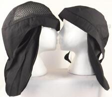 skull cap hat do doo rag black/blue air holes legionnaire sunblock sweat band US