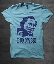 Charles Bukowski T shirt william burroughs ginsberg hunter s thompson