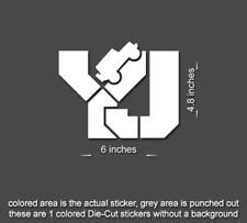 Jeep YJ Wrangler Decal stickers hood door fender YJ rubicon