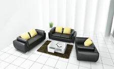 Leder Sofa Couch Polster Garnitur Sofagarnitur Moderne Couchen 3+2+1 Set F3014D