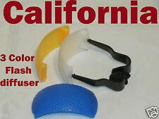 3 Color Pop up Flash Diffuser For Nikon D90 D7000 D5100 D3000 D80 D70 D60 D3100