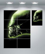 Alien vintage movie poster géant Mur Art Print