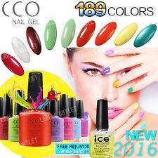 CCO Nail UV Polish Gel Varnish Soak Off Original 2017 New 189 Color 7.3ml